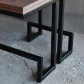 стол алабама шафт chaft мебель для лофта