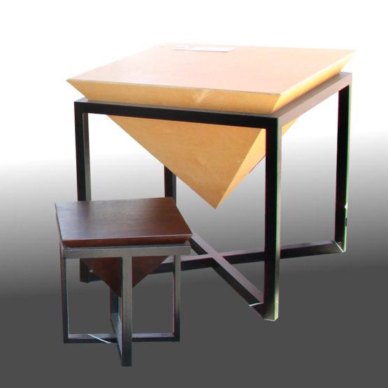 Комплект мебели Пирамида Chaft Шафт мебель для лофта