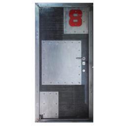 Металлическая дверь Шеф лофт Chaft из стали